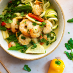 Green Coconut Curry with Shrimp